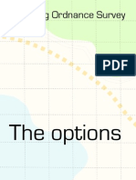 Changes to Ordnance Survey - the options