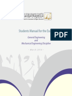 4. Mechanical Engineering Learning Outcomes