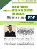 219 - Uso de Perros Detectores en El Control de Drogas