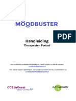 Handleiding MoodBuster_TherapeutenPortaal
