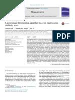 A novel image thresholding algorithm based on neutrosophic similarity score