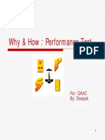 Why & How-Performance Test
