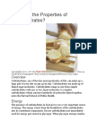 What Are the Properties of Carbohydrates