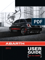 Abarth 500 2012 Misc Documents-User Guide