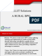 Villit Solutions Presentation