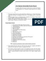 Summer Internship Guidelines Doc