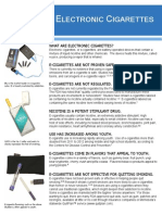 E-cig Fact Sheet