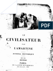 M.de Lamartine - Le Civilisateur - Juin 1852(Incomplet)