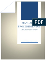 Manual de Procedimientos Lab Cisco
