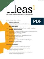 Ideas, revista de filosofía moderna y contemporánea