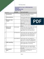 Testingchecklistmobileapplication 091023085741 Phpapp02 2