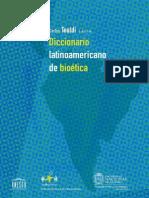 Diccionario de Bioetica Latinoam