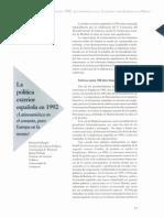 La+política+exterior+española+en+1992