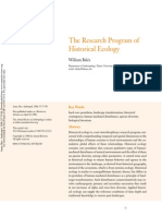 The Research Program of Historical Ecology