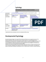 Developmental Psychology - Master_2014_2015