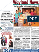 The Wayland News August 2015