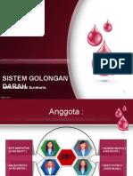 Sistem Golongan Darahfix