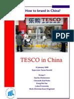 Tesco in China final Version