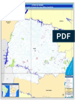 Mapa Dominio Corpos Hidricos Superficiais Parana