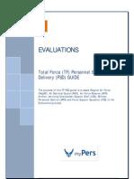 TF Evaluations PSDG as of 31 Jul 2015 Format v11 Final