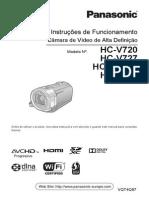 Panasonic HC V7xx