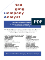 Certified Emerging Company Analyst Brochure