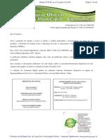 Diário Oficial do Municípo de Goiânia nº 6126 de 21/07/2015