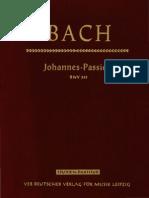 Bach Johannes Passion