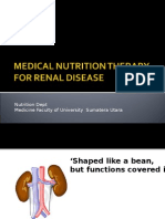 Medical Nutrition Therapy for Renal Disease