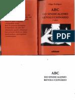 ABC Do Sindicalismo Revolucionário Edgar Rodrigues