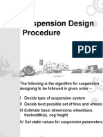 Suspension Design Procedure
