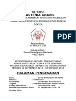 David Dwiadiputra - Referat - Myastenia Gravis (Saraf)
