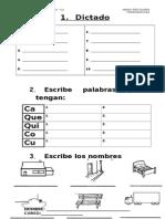 Guía CA - QUE - QUI - CO - CU