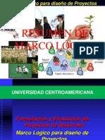 UCA Industrial Resumen Marco Logico