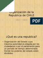 Organizacion de la Republica de Chile