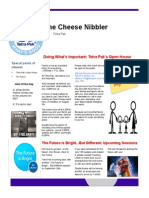 The Cheese Nibbler (July 2015 Edition)