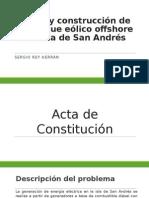 Diseño y Construcción de Un Parque Eólico Offshore