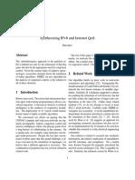 Synthesizing IPv6 anfgfgfgfgfgd Internet QoS