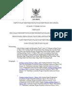 KMK 575 Pedoman Pengkreditan PM