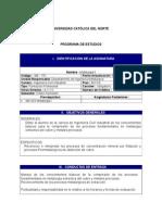 Metalurgia II - Programación