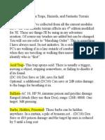 DMJ's 5E Terrain and Traps