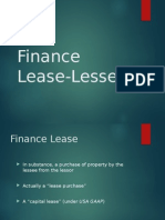 Finance Lease-Lessee intro+sale+and lease back