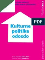 Za Web-Kulturne Politike Odozdo