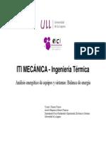 BalanceEnergía (TERMODINAMICA)