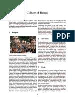 Culture of Bengal