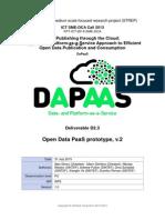 DaPaaS D2.3