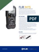 FLIR IM75 Datasheet