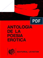 Antologia Poesia Erotica