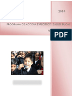 Salud Bucal Plan 2014