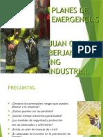 Planes de Emergencia